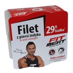 Filet z piersi indyka w sosie winegret 160g FitMeat